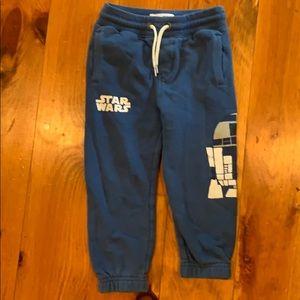 Gap + Star Wars kids sweatpants with R2D2